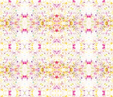 pattern bSprinkles bled on paper & Repeated in Adobe Photoshop